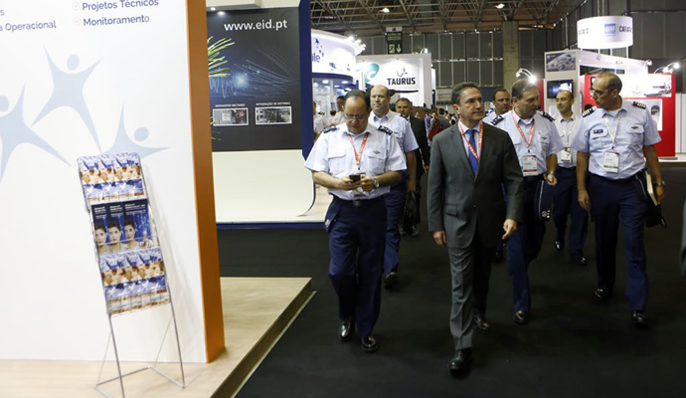 Ministro de Defensa en feria LAAD Defence & Security 2017